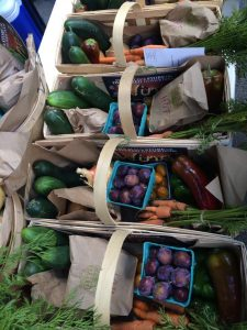 CHQ Local Food offers a non-traditional Community Supported Agriculture model of food delivery baskets sourced from regional farms and small processors. Image Source: Jason Tozcydlowski, CHQ Local Food